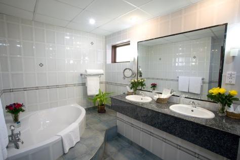 Exexutive Suite's bathroom