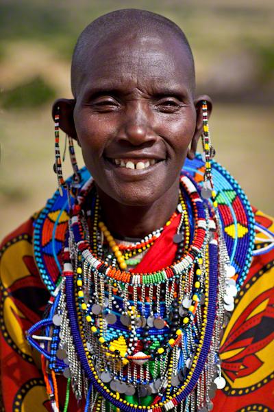 maasai woman zuru kenya