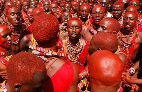 Maasai morans zuru kenya