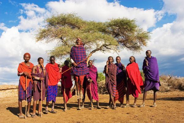 Kenya's Cultural Symbol; The Maasai Tribe