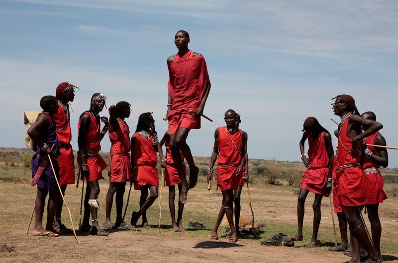 Maasai Marriage Symbol Warrrior