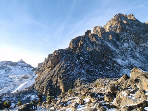 The North Ridge of Batian, Mt. Kenya