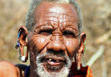 maasai elder zuru kenya