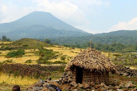 Batwa-hut