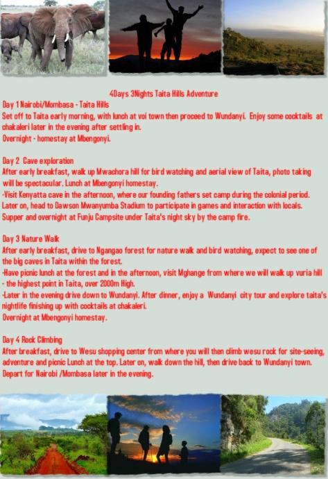 Taita Hills Itinerary - Zurukenya