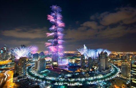 Dubai-Fireworks