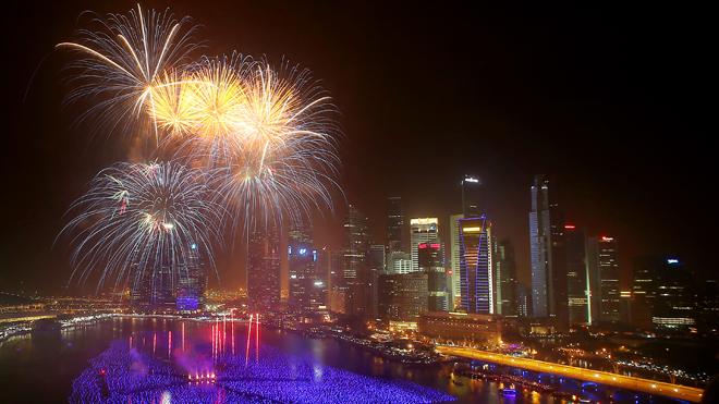 Singapore New Years Eve