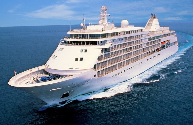 Silver Whisper: See the interior of the world class cruise ship that docked in Mombasa on Sunday Morning with 394 Tourists