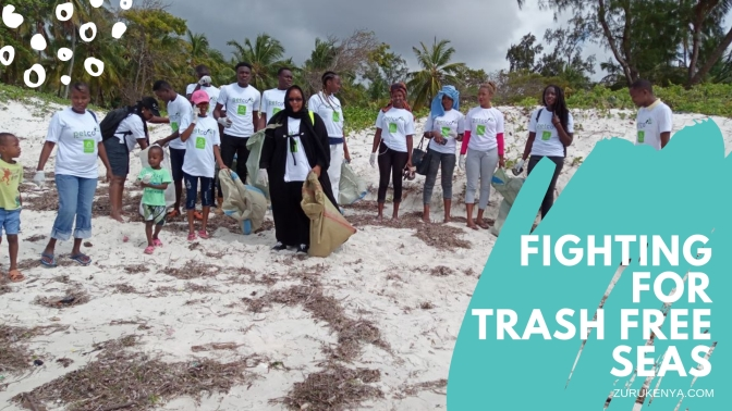 Fighting for Trash Free Seas: The International Coastal Cleanup – Kenyan Chapter